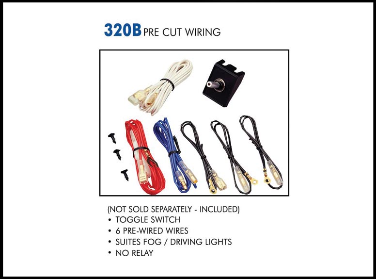 320B web wiring kit eagle eye lights