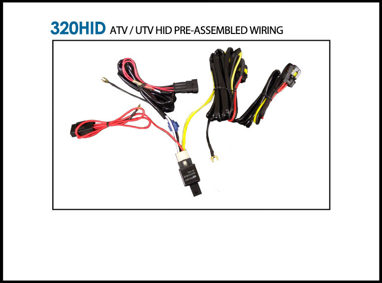 320hid wiring harness for atv utv kits 320hid 27 10 eagle 320hid wiring harness for atv utv kits