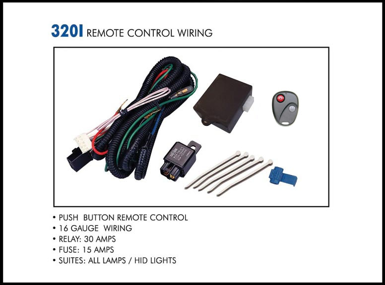 320i web wiring kit eagle eye lights