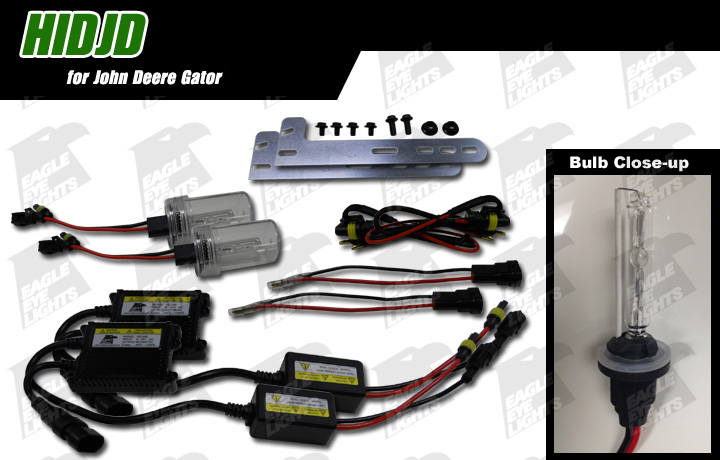 John Deere Hid Lights : John deere hid conversion kit hidjd