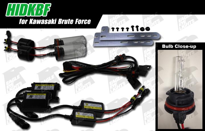 20052013 Kawasaki Brute Force HID Conversion Kit HIDKBF HIDKBF – Kawasaki Brute 650 Wiring