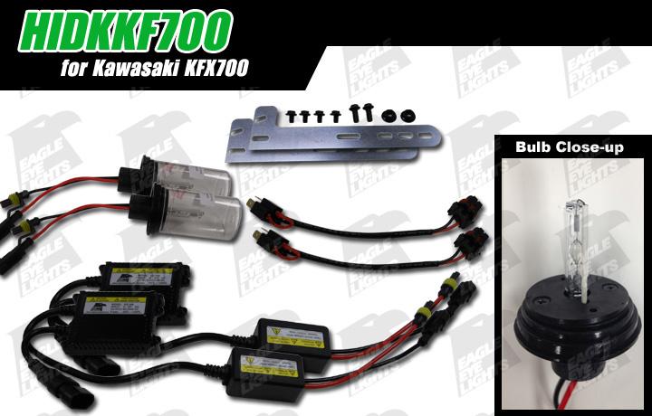 ✘HIDKKF700 [Fits Kawasaki KFX700] Only kit of its Kind ... on