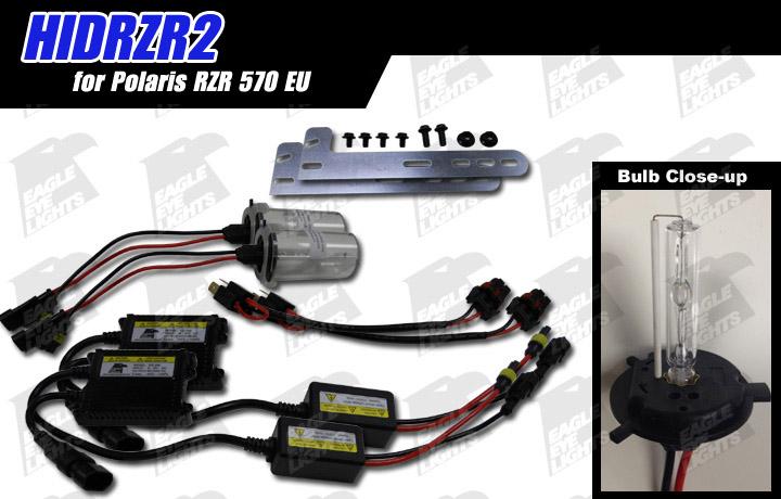 2015-2018 Polaris RZR 570 EU HID Conversion Kit